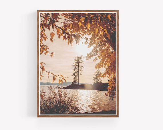 """Lake Tahoe Fall"""