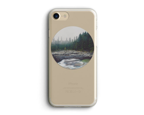 "cell phone case, iphone 6, iphone 6 plus, iphone 7, iphone case, photo art, landscape photo, landscape art, glacier park - ""Timeless Waters"""
