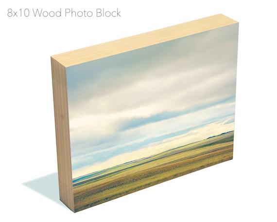8x10 Wood Photo Block