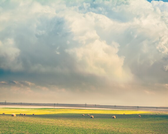 """Harvest Skies"" - landscape photography"