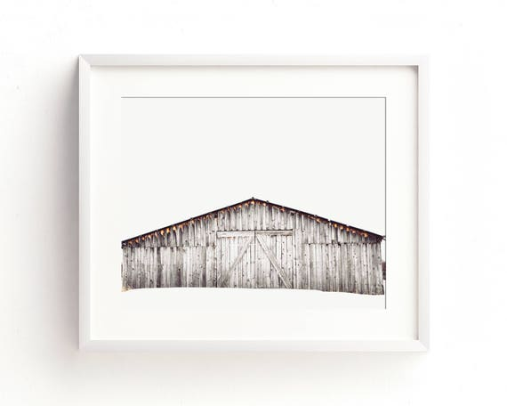 """""""Winter Barn"""" - fine art photography"""