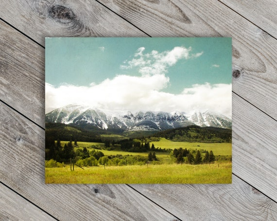 The Bridgers Montana Landscape Photo - STUDIO SALE!