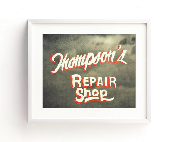 """Thompsons Repair"" - fine art photography"