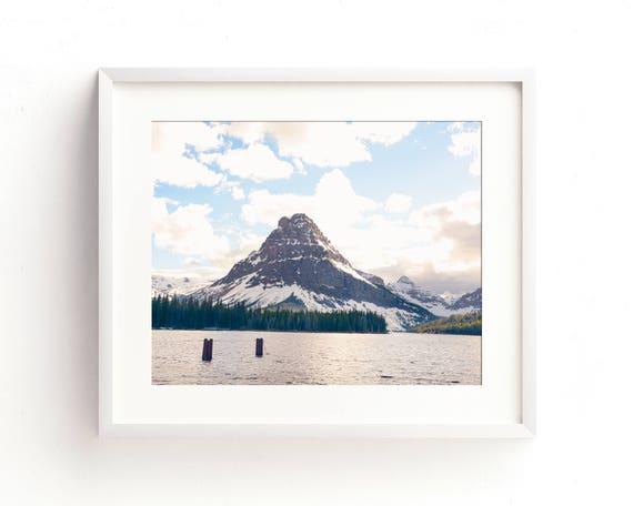 """Two Medicine Lake"" - landscape photograph"