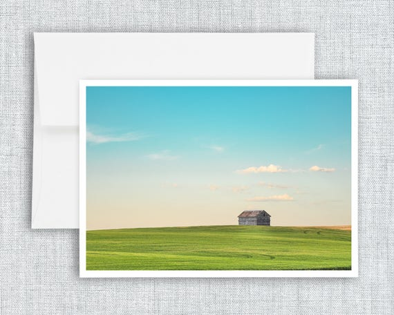 A Country Kind of Life - greeting card