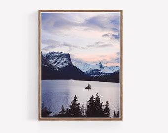 Glacier Park Landscape