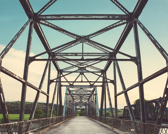 """Old Iron Bridge"" - fine art photography"