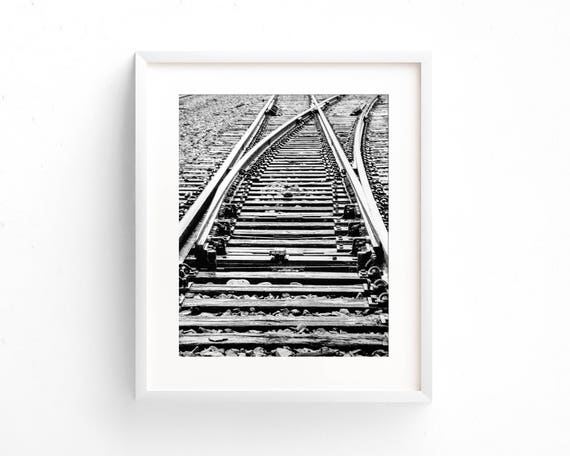 """Cross Connection Railroad"" - fine art photography"