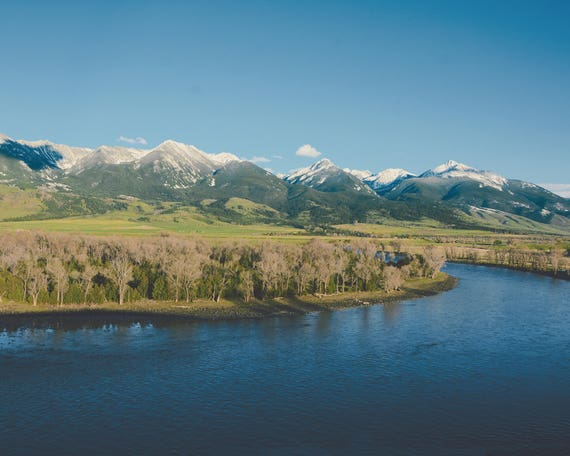 """""""Spring on the Yellowstone"""" - landscape photography"""