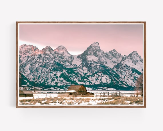"""Grand Tetons Barn"""
