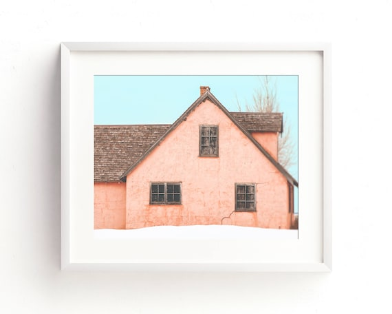 """Little Pink Houses"" - fine art photography"