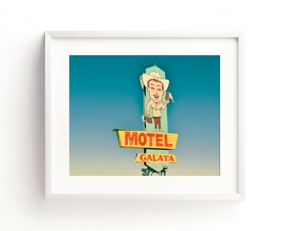"""Motel Galata"" - fine art photography"