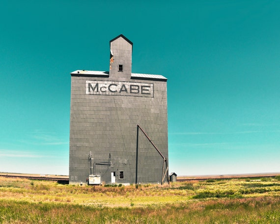 """McCabe Grain Elevator"" - fine art photography"