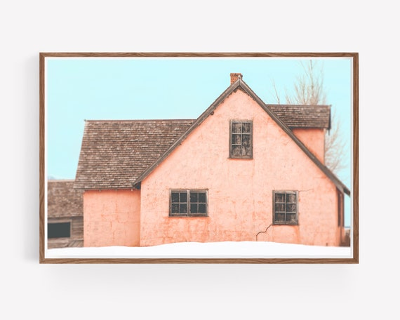 """Little Pink Houses"""
