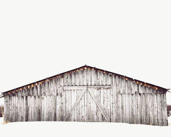 minimalist landscape wall art, large landscape wall art, farmhouse wall art, farmhouse art prints, rustic wall art, barn -