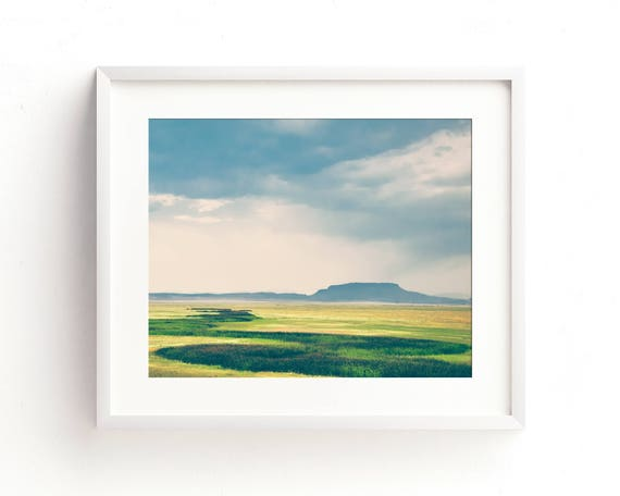 """Meadow at Square Butte"" - landscape photography"