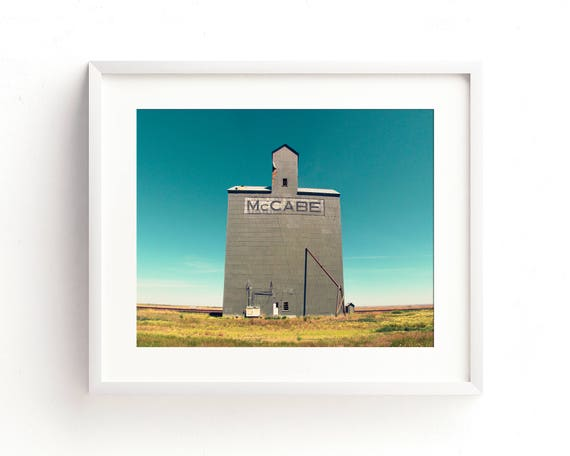 """McCabe Grain Elevator"" - fine art photography"