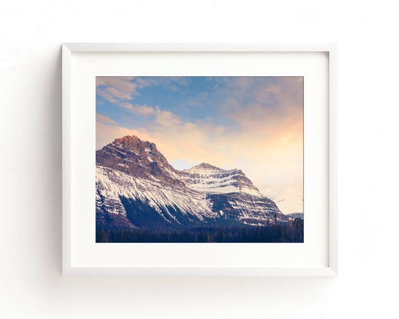 """""""How the Light Loves the Mountains"""" - landscape wall art"""