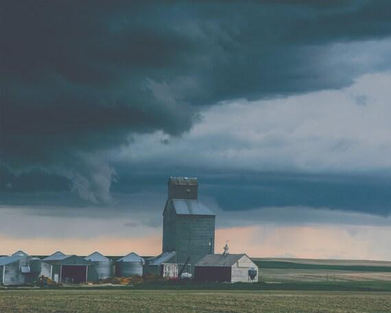 """""""Prairie Storm"""" - landscape photography"""