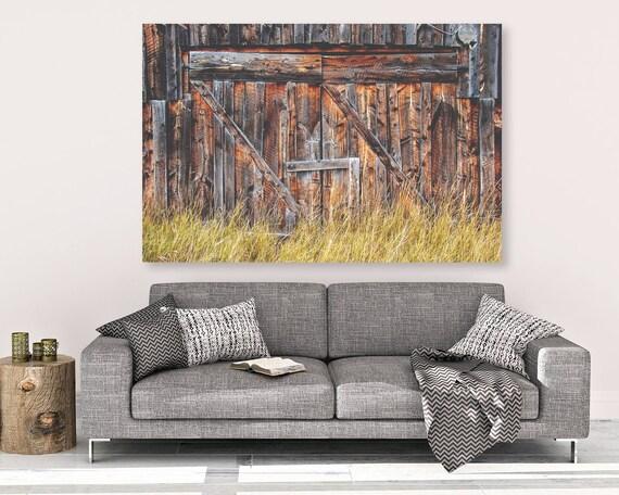 """""""Barn Doors"""" - canvas wall art"""