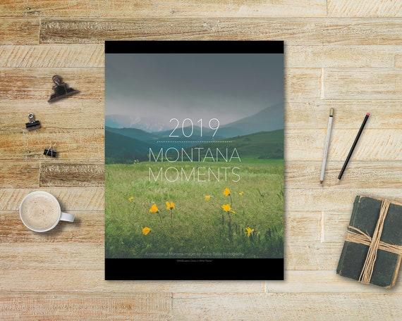 Montana Moments - 2019 wall calendar