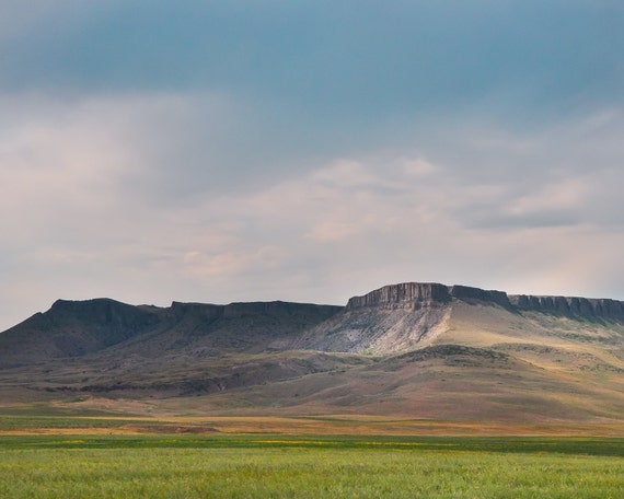 """Evening at Square Butte"" - landscape photography"