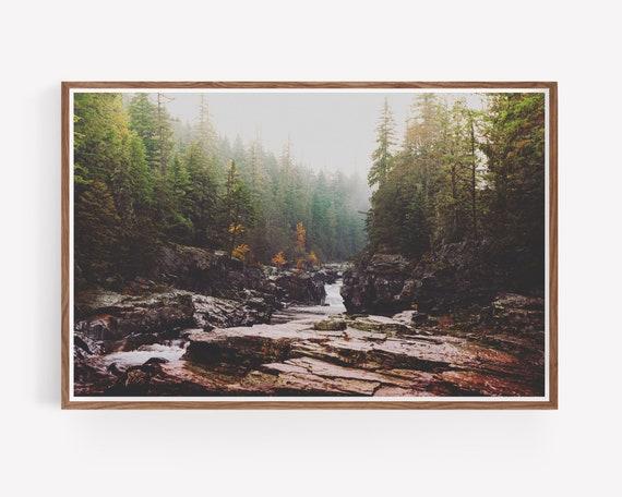 """Fog Over Haystack Creek"""