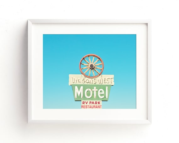 """Wagons West Motel"" - fine art photography"