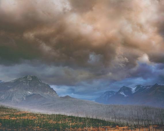 """East Glacier Storm"""