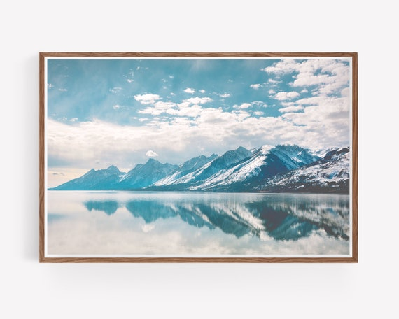 """Tetons Reflection"""