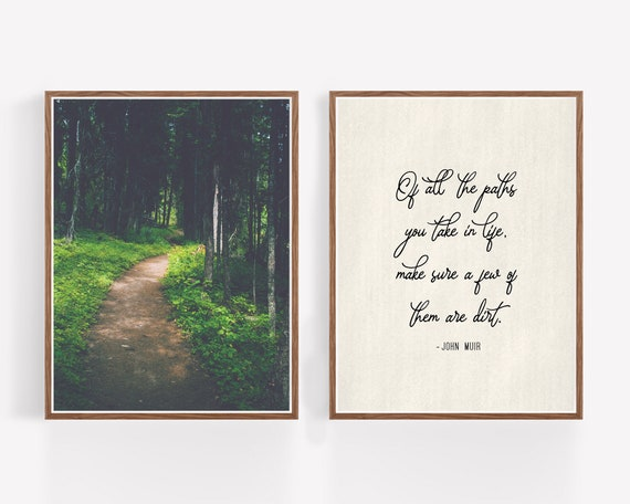 """Paths"" - set of 2 prints"