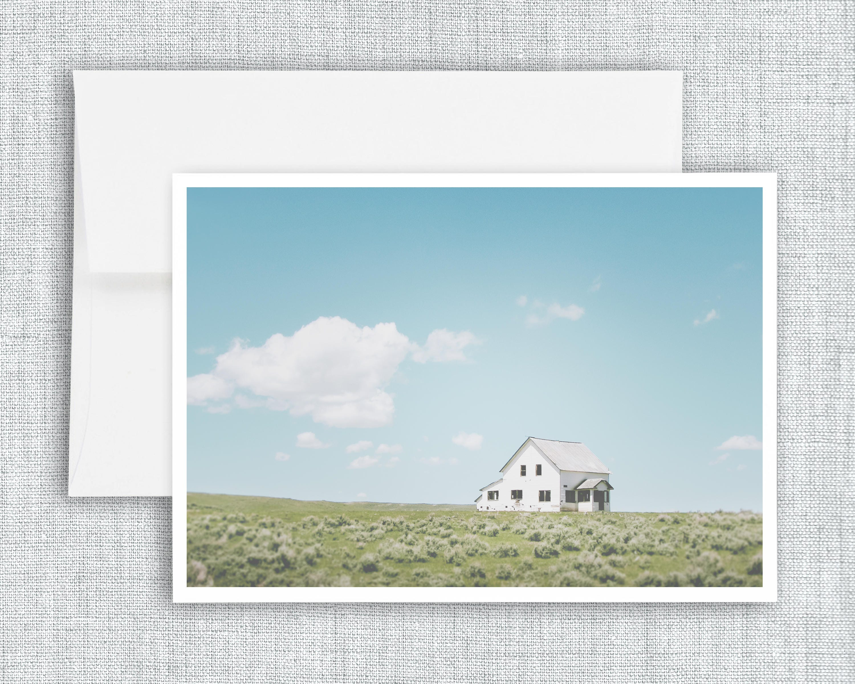 A Simple Life Greeting Card Blank Greeting Card Montana Etsy