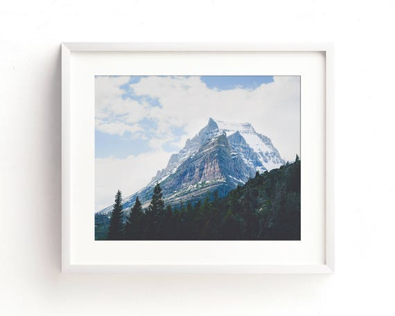 """""""Crown of the Continent"""" - landscape wall art"""