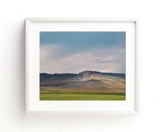 """Evening at Square Butte"" - landscape photography"
