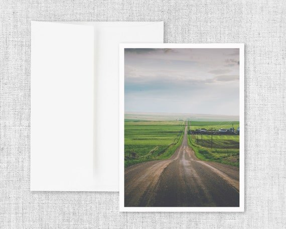 """All Roads Lead Home"" - greeting card"