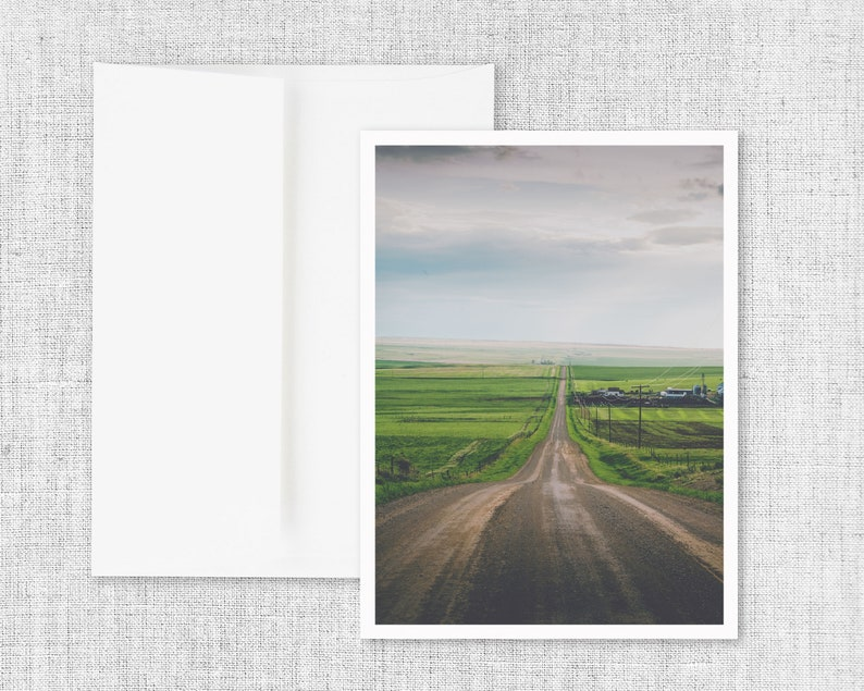 All Roads Lead Home  greeting card blank greeting card image 0