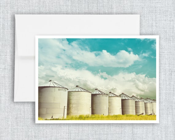 All in a Row - greeting card