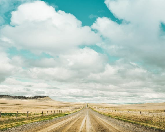 """Dirt Road Travels"" - landscape photography"