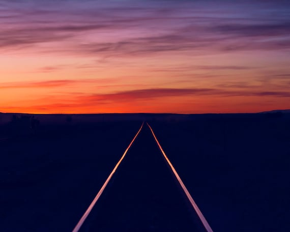 """Railroad Sunset"""