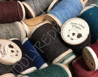 Moire Rustic Wool Thread ~ colors #560 thru #999 + New Colors