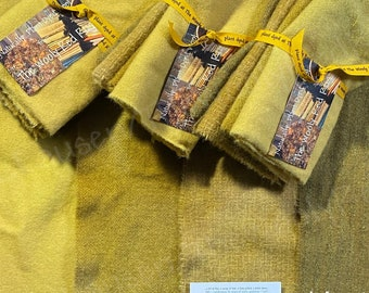 Marigold ~ Naturally – Hand – Plant Dyed Wool Pack