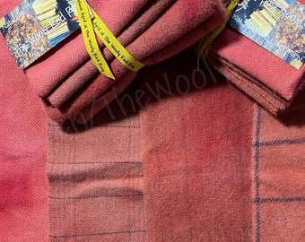 Madder ~ Naturally – Hand – Plant Dyed Wool Pack