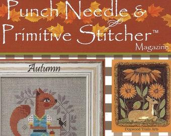 Punch Needle and Primitive Stitcher Magazine - 2021 Issues