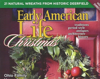 Early American Christmas 2020 Magazine Early american pine | Etsy