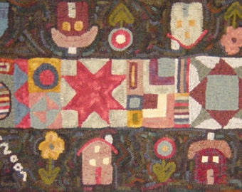 Comforts of Home Rug Hooking Pattern