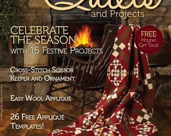 Primitive Quilts and Projects Magazine 2014 ~ 2013 Back Issues