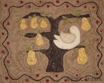Pear Tree Rug Pattern