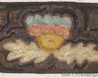 May Flower Mat Linen Pattern