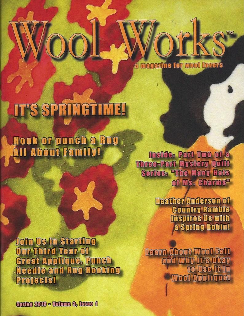 Wool Works Magazine  Spring 2019 image 0