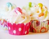 Cupcake Artwork Bakery Instant Digital Download Food Photography Digital Graphics Website Background Commercial Use